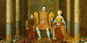 Schilderij van Koning Henry VIII van Engeland.