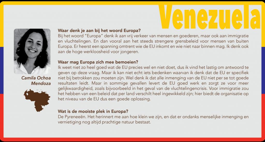 EuroKwartetvraag Venezuela
