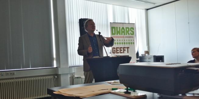 Bram van Ojik sprak in Eindhoven op het DWARS voorjaarscongres 2015