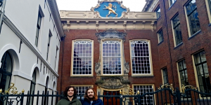 Sybren en Douwe bij DWARS Fryslân