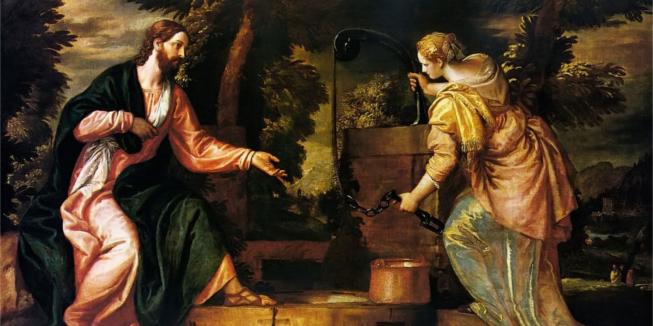 Jezus en de Samaritaanse vrouw