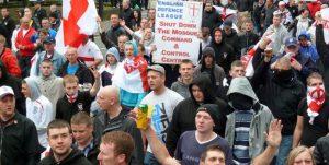 Demonstratie extreemrechts
