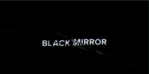 Het logo van de serie Black Mirror (bron: https://www.flickr.com/photos/59087292@N07/6855050673)