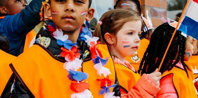 Patriottisme: Kinderen bij de Koningsspelen