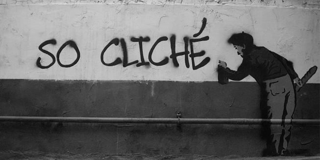 Rechtse clichés graffiti