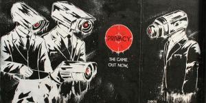 Privacy graffiti Londen