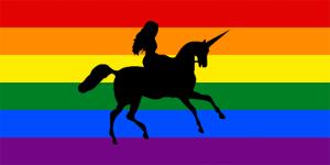 Biseksueel: De lgbtq-vlag