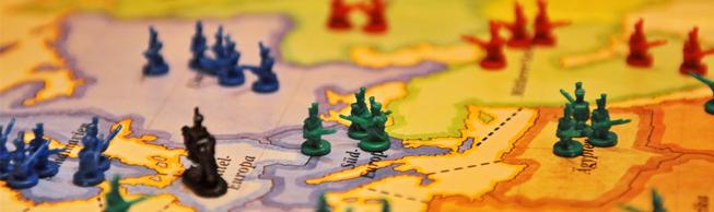 Risk oorlogje spelen