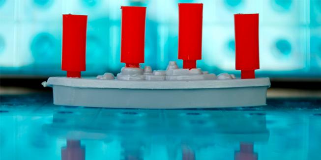 Zeeslag oorlogje spelen
