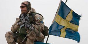 Zweedse soldaat zweden
