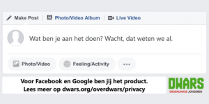 privacy Facebook en Google