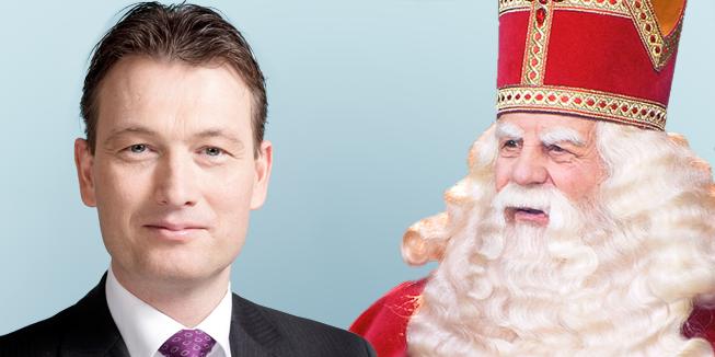 Halbe Zijlstra zegt dat het Sinterklaasfeest wordt vermoordt.