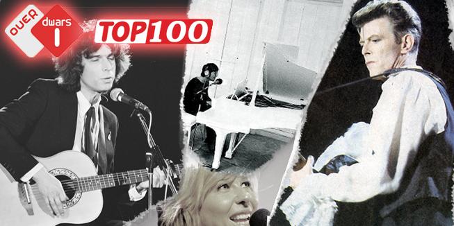 Boudewijn de Groot, Claudia de Breij, John Lennon en David Bowie zijn enkele helden uit de Dwarse Top 100.