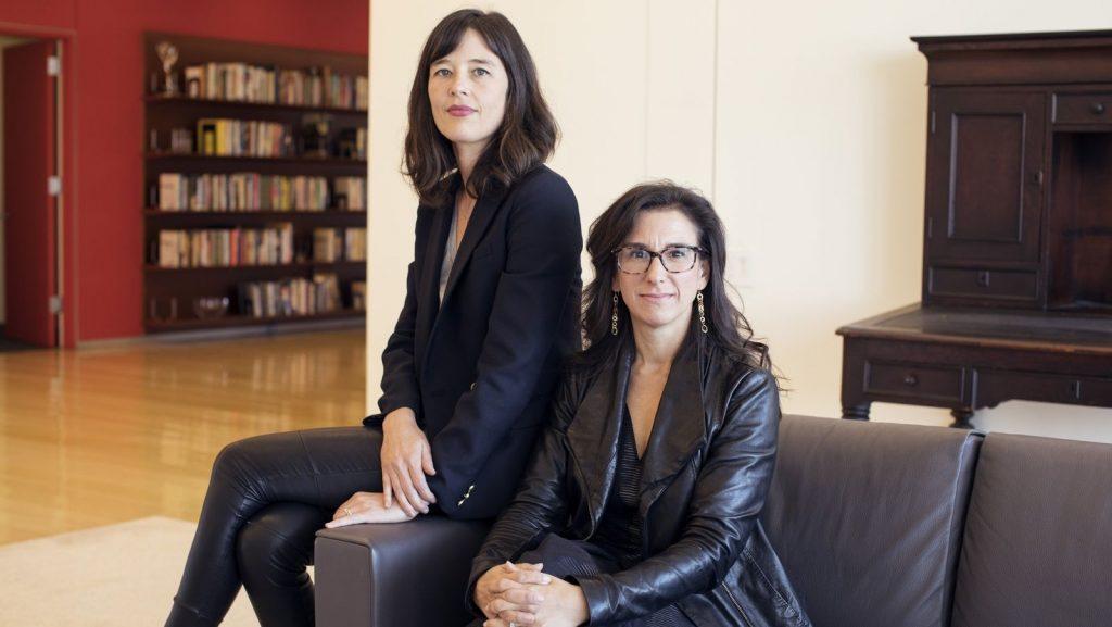 Jodi Kantor en Megan Twohey. (c) Katharina Poblotzki voor Marie Claire