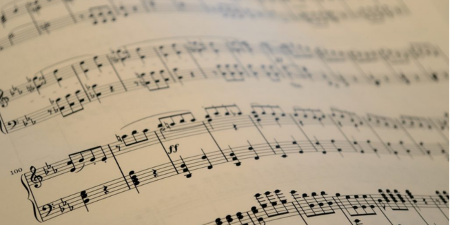 DWARS linkse hobby bladmuziek