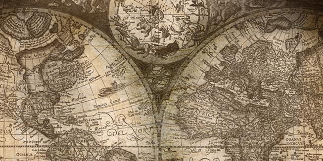 OverDWARS in het land globe