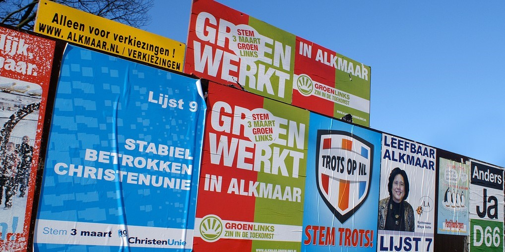 verkiezingsposters GroenLinks