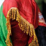 Iemand met Afghaanse vlag
