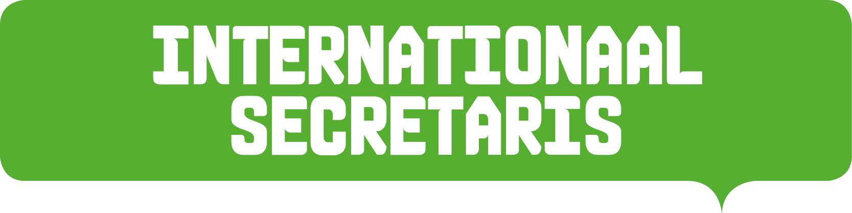 internationaal secretaris